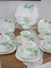Shelley Anenome Fine Bone China Tea Set.