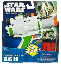 Star Wars The Clone Wars General Grevious Dart Blaster Gun Age 5+ New Toy Hasbro