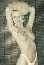 Original Nude Pinup Photo Like PC- Blond- Sepia Beauties- Michelle Louise #6
