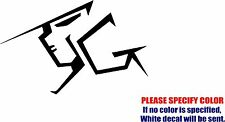 Vinyl Decal Sticker - Gundam Head Anime #06 Car Truck Bumper Window JDM Fun 7""