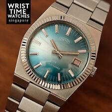 VINTAGE NOS OCTO Missilemaster 454 Automatic Handwind SWISS fluted bezel Men's