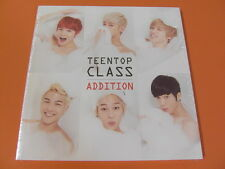 TEEN TOP Class Addition (4th Mini Repackage) CD (Sealed) $2.99 Ship K-POP