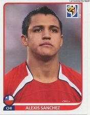 N°634 ALEXIS SANCHEZ # CHILE STICKER PANINI WORLD CUP SOUTH AFRICA 2010