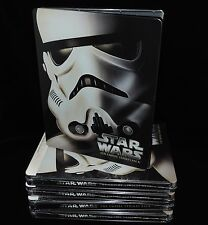 Star Wars V  The Empire Strikes Back (Blu-ray) Steelbook (Import) Region Free