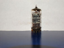 1 x 12ax7 Telefunken  (Fisher) Tube *Ribbed Plates*Results = 1580/1440