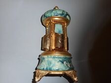 Vintage Romance Carousel Music Box Lipstick Cigarette Holder Italy