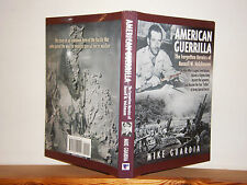 American Guerrilla by Mike Guardia HB / Dw 2010 signed by author WW2 Philippines
