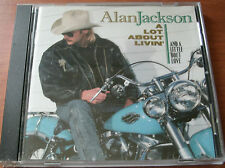 ALAN JACKSON - A LOT ABOUT LIVIN' 1992 CD ARISTA