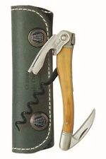 Chateau Laguiole™ Waiter's Corkscrew, Olive Wood