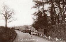 Brightling Road Robertsbridge RP old pc used 1910 Cooper