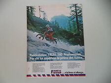 advertising Pubblicità 1980 MOTO FANTIC TRIAL 200 PROFESSIONAL