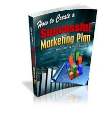 How To Create Successful Marketing Plan Ebook On CD $5.95 Resale Right Ship Free