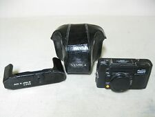 COLLECTIBLE YASHICA AUTO FOCUS MOTOR D 35MM FILM CAMERA WITH CASE