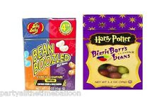 Harry Potter BERTIE BOTTS Jelly Belly Beans & BEAN BOOZLED 1 BOX Each FREE SHIP