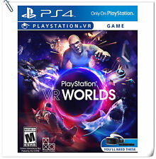 PSVR PlayStationVR Worlds SONY PLAYSTATION Action Games SCE