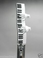 """""""RHAPSODY IN BEER""""  PIANO KEYBOARD BAR  BEER TAP HANDLE DIRECT FROM RON LEE"""