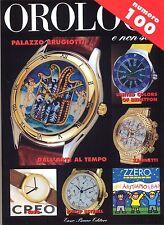 OROLOGI E NON SOLO N. 100 OTTOBRE  1996