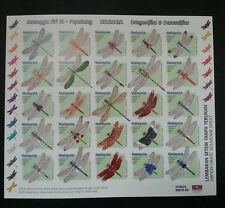 Dragonflies & Damselflies Malaysia 2000 Insect Dragonfly (stamp sheet Imperf MNH