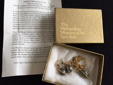 Metropolitan Museum of Art~Faberge Egg Jewelry Set~Charm Pendant and Earrings!