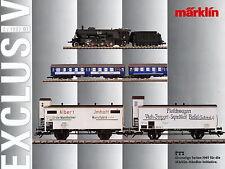 Märklin Exclusiv 2 97 Prospekt 1997 catalog Marklin model railways Schnellzug