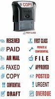 TRODAT OFFICE WORD STAMPS SELF INKING,ACCOUNTS,BUSINESS,SCHOOL,WAREHOUSE etc