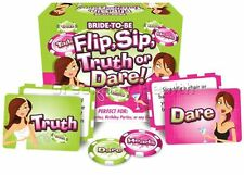 Flip Sip Truth or Dare Bachelorette Hen Birthday Party Game Gag Girl's Night Out