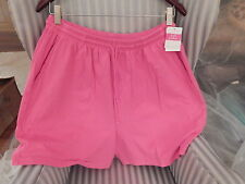 NWT!  FRESH PRODUCE 100% COTTON JERSEY SHORT IN NOMAD PINK (L).SO COMFY