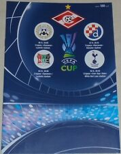 SPARTAK MOSCOW 2008 official group programme UEFA Cup TOTTENHAM NEC UDINESE