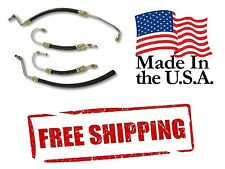 63-79 Corvette Power Steering Hose Kit USA Made SB Chevy Pump Ram Cylinder Hoses