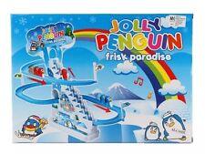 Penguin Race Gioco Classico Jolly Racer traccia elettronica con RITMICA Music UK