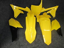 Yamaha YZF250 YZF450 2014-2016 X-FUN New Yellow complete plastic kit PK5012