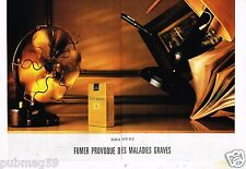 Publicité advertising 1991 (2 pages) Les Cigarettes Philip Morris