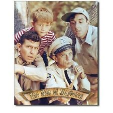 Andy Griffith Show Classic TV Men Of Mayberry Cast Retro Decor Metal Tin Sign