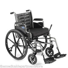 Invacare 18 Inch - Lightweight Manual Foldable Folding Wheelchair