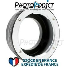 Bague d'adaptation objectif Olympus 4/3 vers boitier Micro 4/3