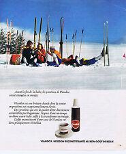 PUBLICITE ADVERTISING 064 1976 VIANDOX boisson au bon goût de Boeuf