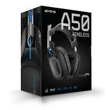 ASTRO A50 | Wireless Gaming Headset w/ MixAmp | For PS4, PS3, PC, & Mac