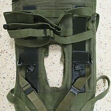 VIETNAM TO GOLF WAR MILITARY RADIO PRC 77 & PRC 25 CARRY HARNES BACK PACK  -01