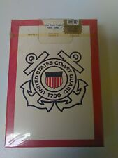 6 decks United States Coast Guard playing cards, Hoyle New shrink wrapped