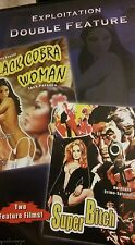 Black Cobra Woman / Super Bitch, Exploitation Double Feature! Original DVD