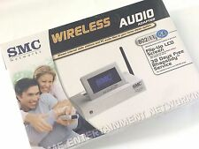 SMC EZ-Stream SMCWAA-G 802.11b/g 54Mbps Wireless Audio Adapter w/ LCD Display