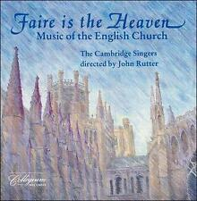 Faire Is The Heaven - Music Of The English Church by Benjamin Britten ; Willia..