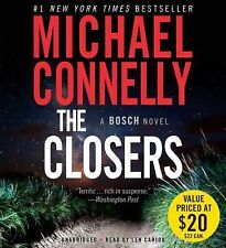 The Closers by Michael Connelly (2015, CD, Unabridged)