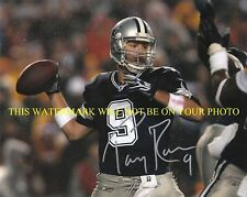 TONY ROMO AUTOGRAPHED AUTO 8x10 RP PHOTO DALLAS COWBOYS