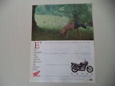 advertising Pubblicità 1994 MOTO HONDA CB 500