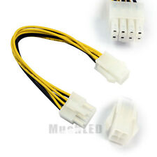 New ATX 4 Pin male to 8 Pin Female Adapter EPS Power Supply Cable Adapter