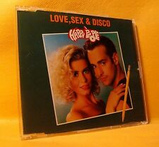 MAXI Single CD Love, Sex & Disco Happy People 3TR 1993 Euro House