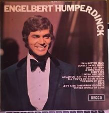 Engelbert Humperdinck Lp Vinyl Album Excellent Condition