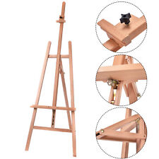 Heavy Duty Beech Wooden Adjustable Tripod Easel Sketch Painting Portable New