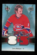 2015-16 UPPER DECK ULTIMATE COLLECTION MATERIAL ACHIEVEMENTS LARRY ROBINSON /99